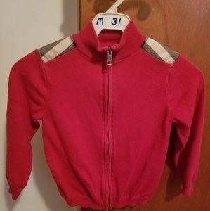 Boys Burberry Sweater